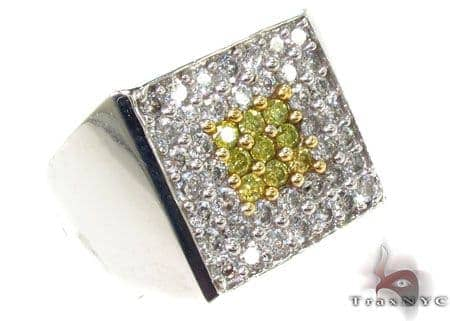 Two Color Diamond Ring 28856 Stone