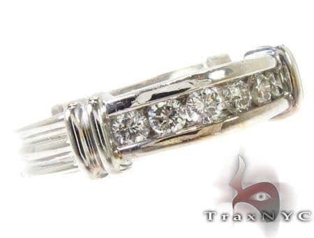 Channel Diamond Wedding Band 28859 Stone