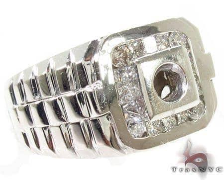 Invisible Diamond Semi Mount Ring 28883 Stone