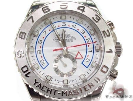 Rolex Yacht-Master II White Gold 116689 Diamond Rolex Watch Collection