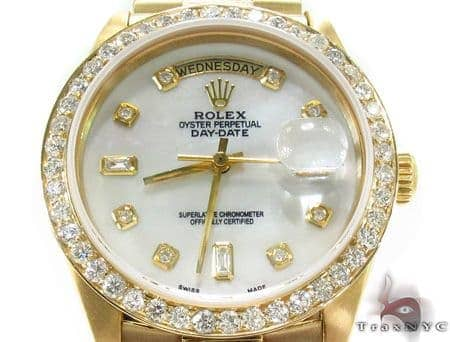 Rolex Day-Date Yellow Gold 18348 Diamond Rolex Watch Collection