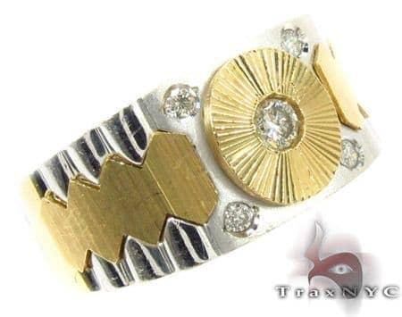 Bezel Diamond Ring 29161 Stone