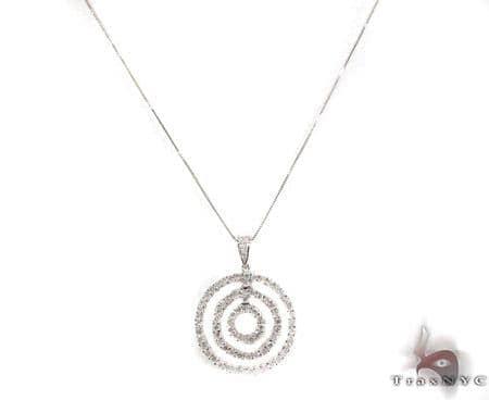 Prong Diamond Necklace 29178 Diamond