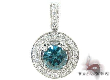 Blue Diamond Pendant 29404 Stone