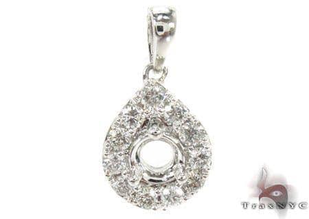 Prong Diamond Pendent 29426 Stone