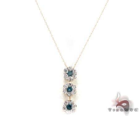 Prong Diamond Necklace 30654 Diamond