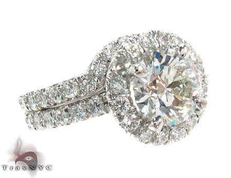 True Love Wedding Ring Set Engagement