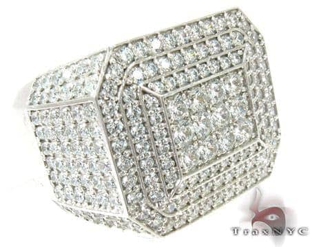 Mens Indulgence Diamond Ring Stone