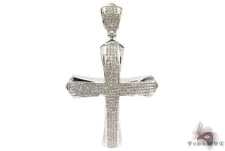 Silver Diamond Cross 31120 Silver