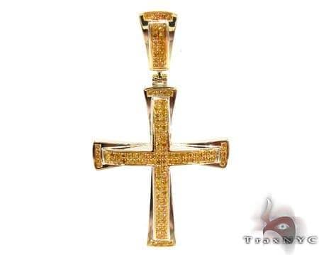 Silver Diamond Cross 31124 Silver