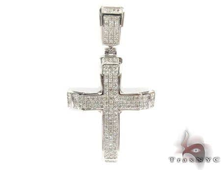Silver Diamond Cross 31128 Silver