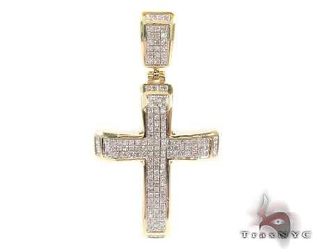 Silver Diamond Cross 31129 Silver