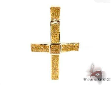 Silver Diamond Cross 31131 Silver