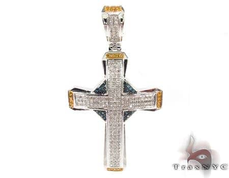 Silver Diamond Cross 31132 Silver
