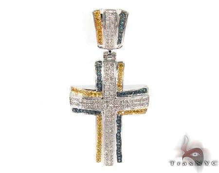 Silver Diamond Cross 31133 Silver