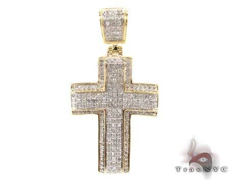 Silver Diamond Cross 31135 Silver