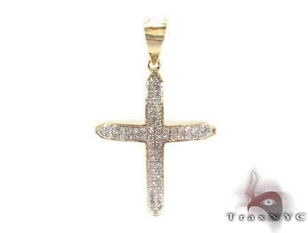 Silver Diamond Cross 31141 Silver