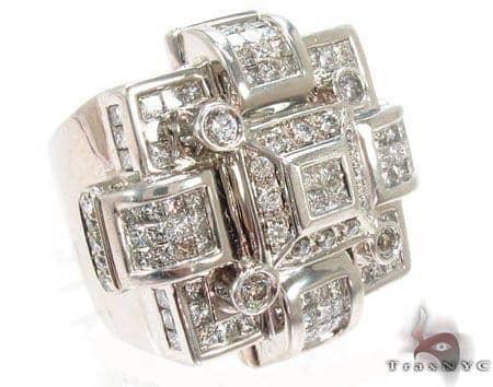 Invisible Diamond Ring 31176 Stone