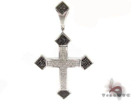 Silver Diamond Cross 31178 Silver