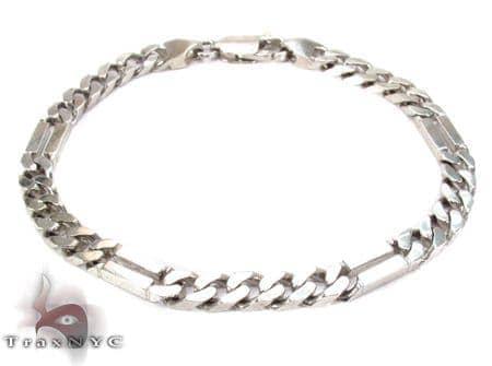 14K Gold Bar Miami Bracelet 31280 Gold