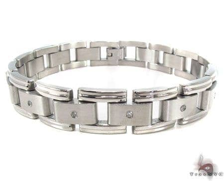 Stainless Steel Bracelet 31392 Stainless Steel