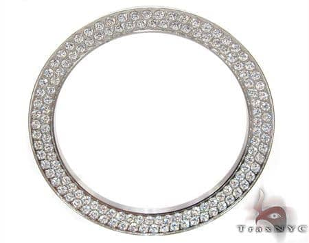 CZ Bezel for Breitling Super Avenger Watch 2 Watch Accessories