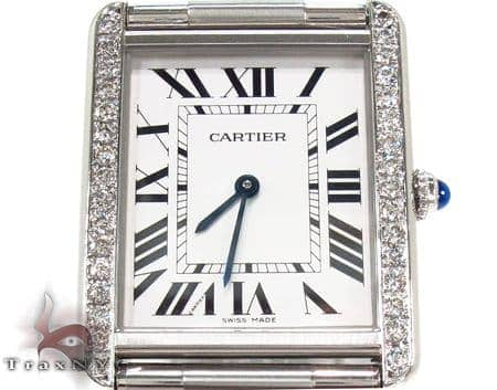 Cartier Tank Solo Diamond Steel Watch Cartier