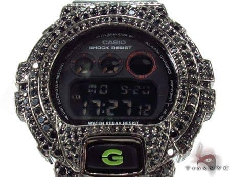 Casio G-Shock Black CZ Silver Case Watch G-Shock