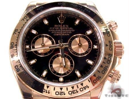 Rolex Daytona Rose Gold 116505