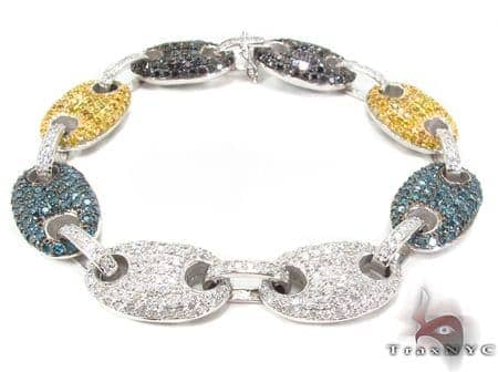 Gucci Link Multi-colored Diamond Bracelet Diamond