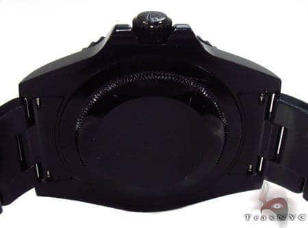 Rolex GMT Master II Black DLC/PVD 16710 Diamond Rolex Watch Collection