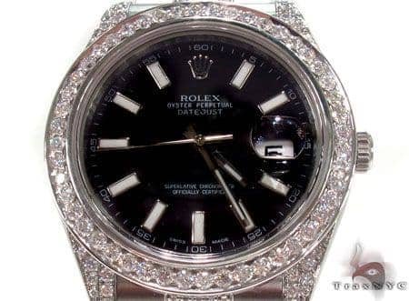 Rolex Datejust II Steel 116300 Diamond Rolex Watch Collection