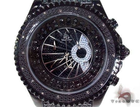 Black CZ Techno Master TM-2137 Watch Affordable Diamond Watches