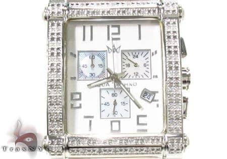 Aqua Techno Diamond with Orange Leather Watch Aqua Techno