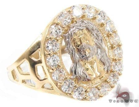 CZ 10K Gold Ring 33212 Metal