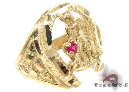 CZ 10K Gold Ring 33261 Metal