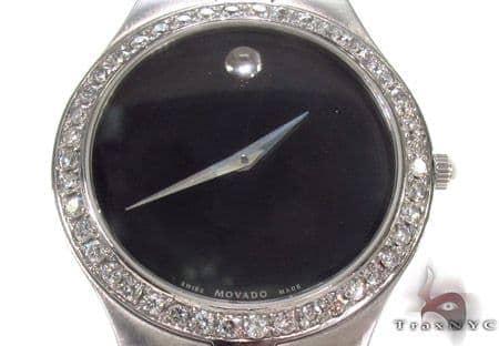 Movado Diamond Watch 0606555 Movado