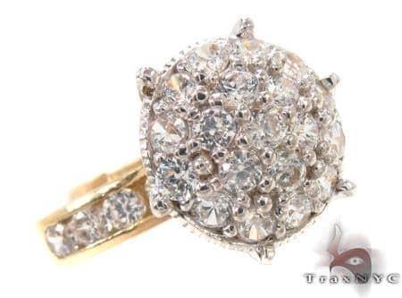 CZ 10k Gold Ring 33350 Anniversary/Fashion