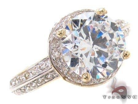 CZ 10k Gold Ring 33361 Anniversary/Fashion