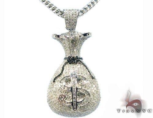 Money Bag Pendant Metal
