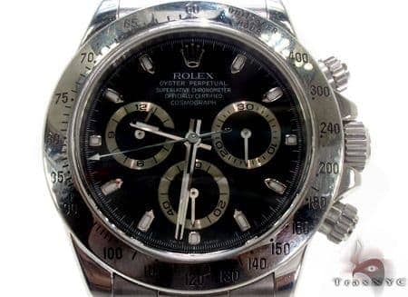 Rolex Classic Daytona Steel Watch 116520 Diamond Rolex Watch Collection