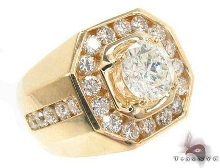 Mens Diamond Godfather Ring 33432 Style