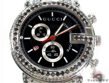 Gucci G-Chrono Black Diamond Watch YA101309 Gucci
