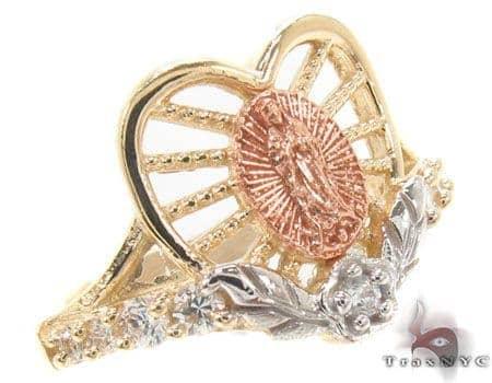 CZ 10K Gold Ring 33628 Anniversary/Fashion
