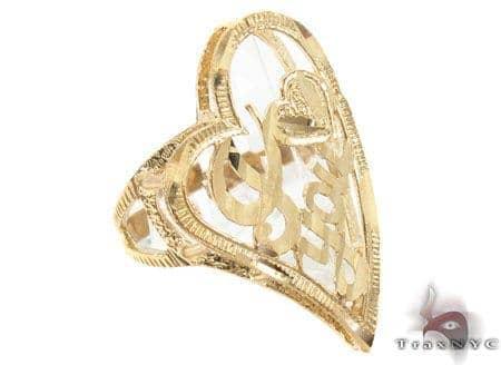 CZ 10K Gold Ring 33633 Anniversary/Fashion