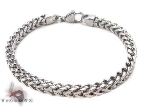 Stainless Steel Franco Bracelet 33812 Stainless Steel