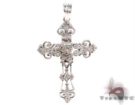 Bezel Diamond Cross 33837 Diamond