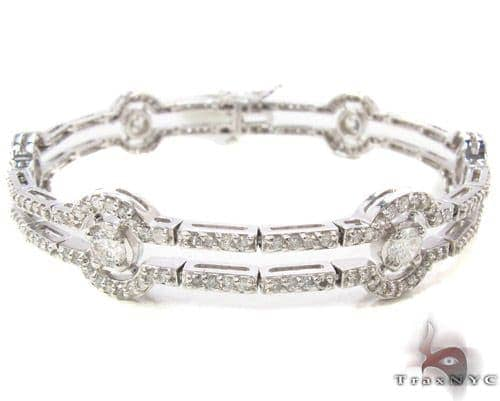 Prong Diamond Bracelet 33854 Diamond