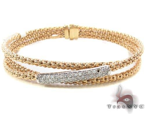 Prong Diamond Bracelet 33856 Diamond