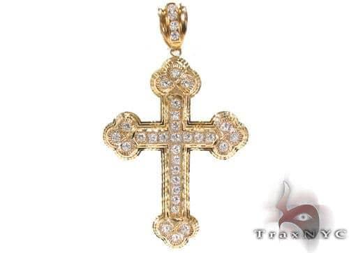 10K Yellow Cross 33953 Gold